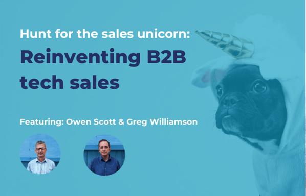 Hunt for the sales unicorn_ Techweek